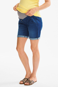 The Denim         THE SHORT JEANS - Umstandsjeans - Bio-Baumwolle