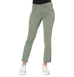 "TOM TAILOR             Jeans ""Alexa"", 7/8, Regular Fit, Slim Leg, Galonstreifen"
