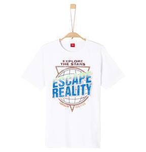 s.Oliver             T-Shirt, Statement-Print, für Jungen