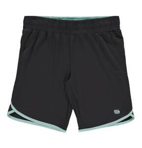 manguun sports             Shorts, Kontrastrand, Emblem, für Mädchen