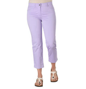 """GERRY WEBER EDITION             Hose """"Romy"""", Straight Fit, 7/8-Länge, Logo-Patch"""