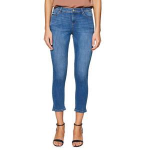 ESPRIT             Jeans, Skinny Fit, Baumwolle, 7/8-Länge