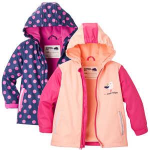 KUNIBOO®  Mädchen-Regenjacke