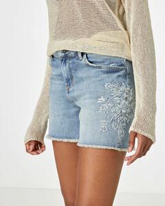 Jeans Shorts aus Candiani Denim