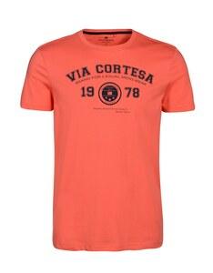 Via Cortesa - T-Shirt mit Frontdruck