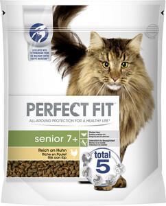 Perfect Fit senior 7+ Reich an Huhn Katzenfutter trocken 0,75 kg