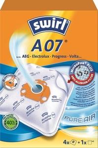 Swirl Staubsaugerbeutel A07 MicroPor® PLUS Anti-Allergen-Filter 4 Stück