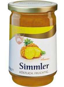 Simmler Konfitüre EXTRA Ananas 450 g