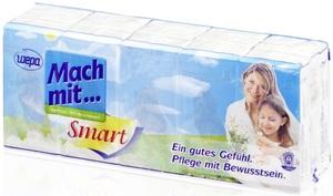 Wepa Mach mit... Taschentücher smart 15x 10 Stück