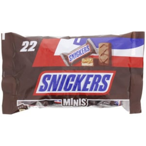 Snickers Minis XL-Verpackung