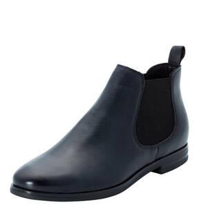manguun collection             Chelsea Boots, Echtleder, glänzend