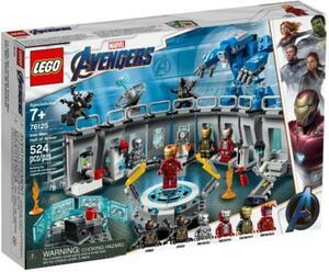 LEGO Marvel 76125 Super Heroes Iron Mans Werkstatt