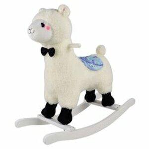 Lama-Schaukeltier, weiß