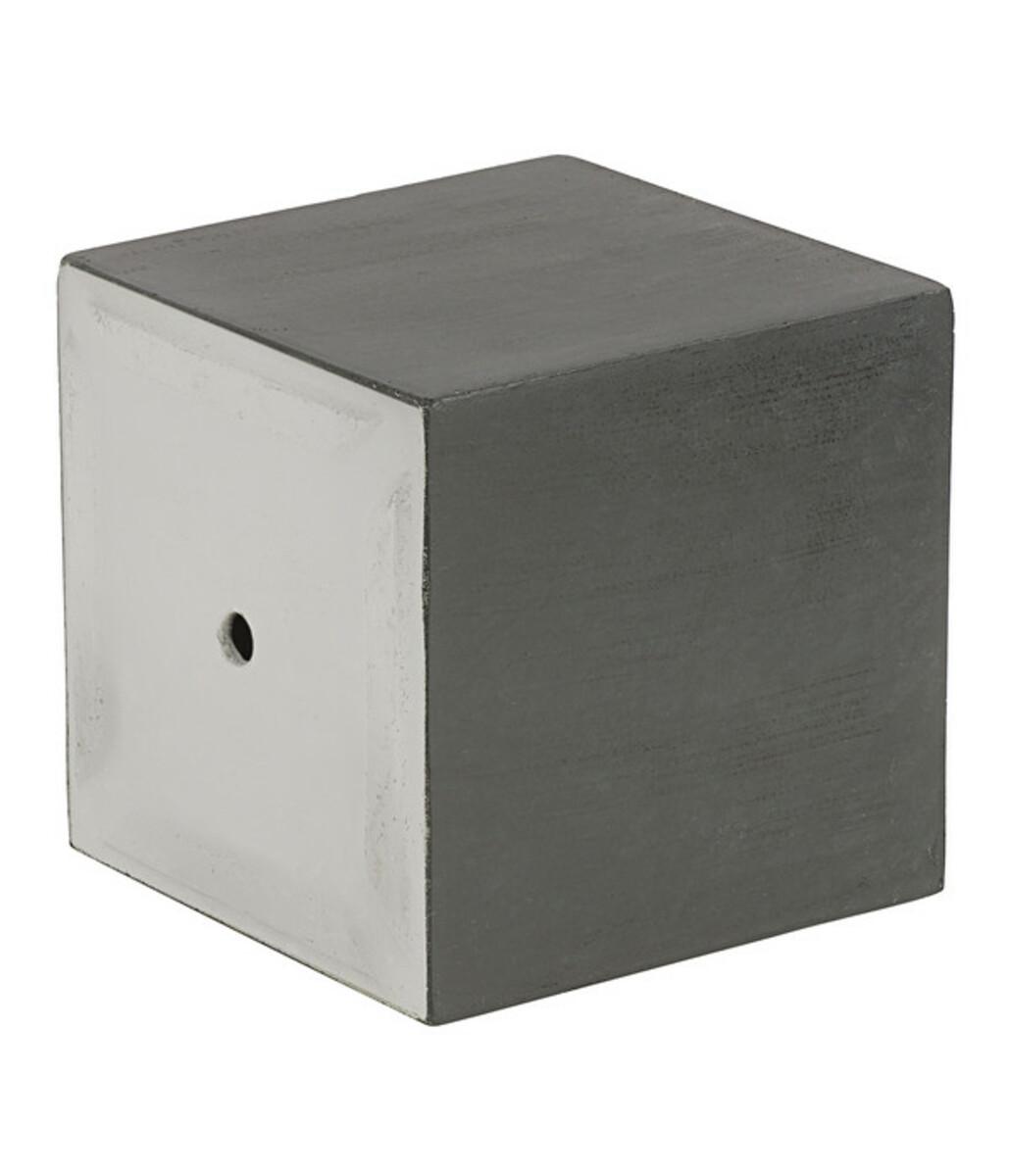 Bild 5 von Dehner Leichtbeton-Topf Clayfibre, quadratisch, graphit