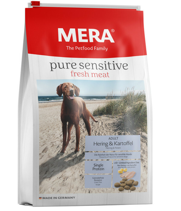 Mera Pure Sensitive fresh meat, Adult, Trockenfutter, 4 kg