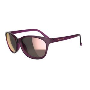 Sonnenbrille Wandern MH140 Kategorie 3 Damen violett