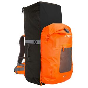 SUP-Rucksack 500 Stand Up Paddle Touring 100 l/40 l wasserdicht orange