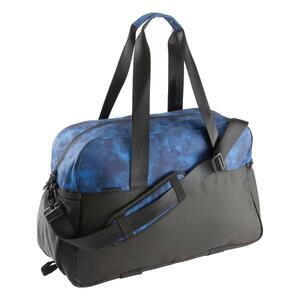 Sporttasche Fitness Cardio 30 l schwarz/blau
