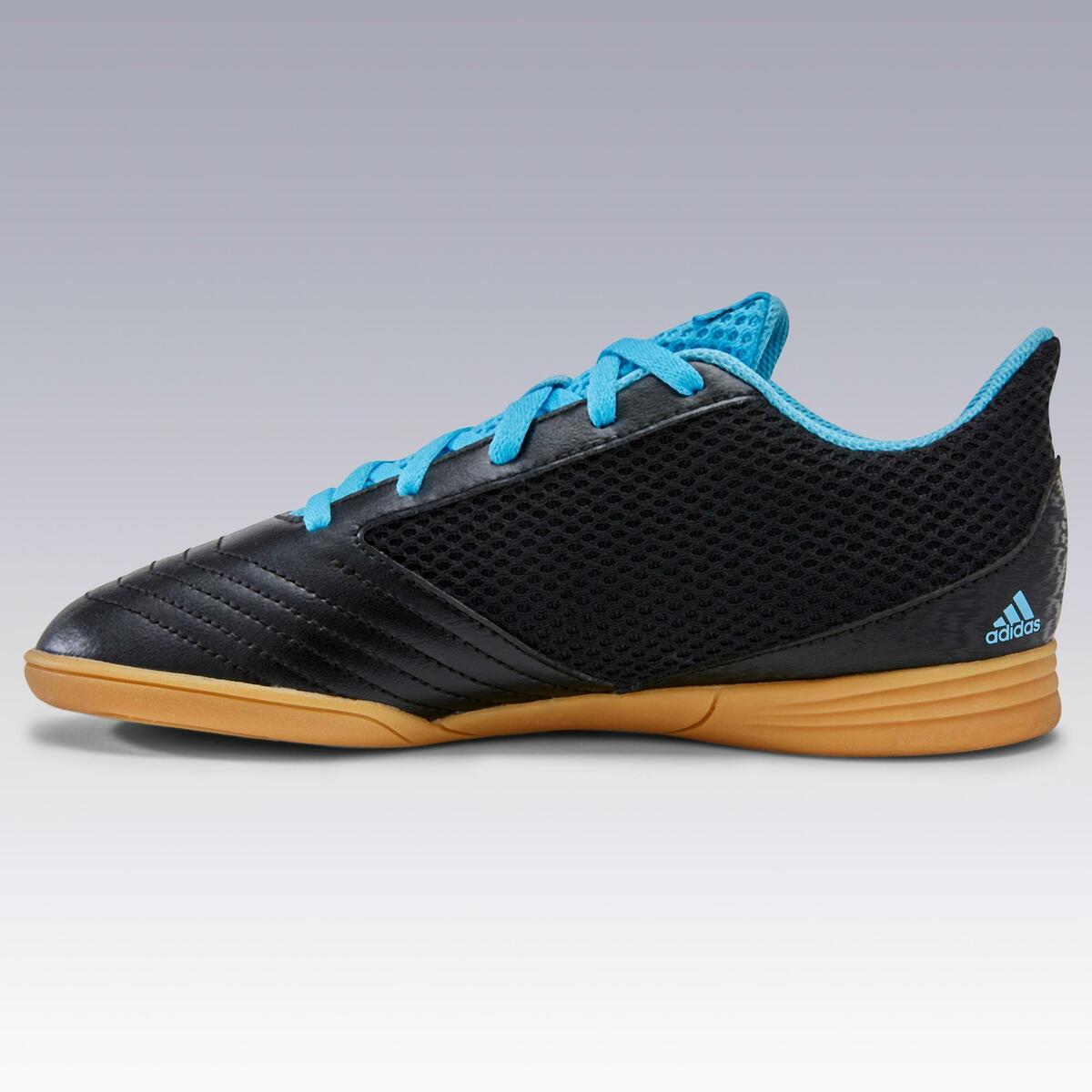 Bild 4 von Hallenschuhe Futsal Fußball Predator schwarz/blau