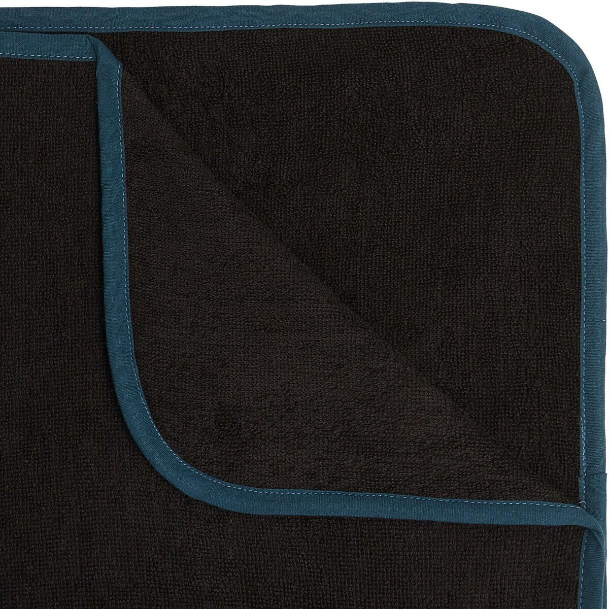 Bild 4 von Surf-Poncho 500 Erwachsene schwarz/blau