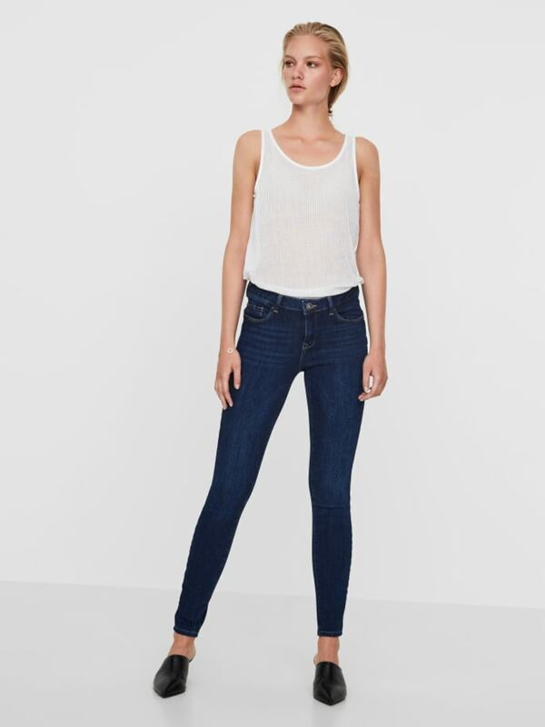 VMICON NORMAL WAIST PUSH-UP SKINNY FIT JEANS