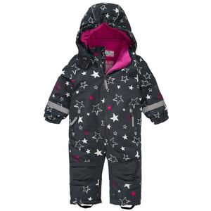Baby Schneeoverall mit Stern-Allover