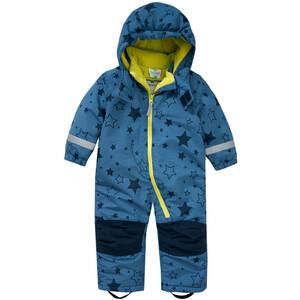 Baby Schneeoverall mit Sternen