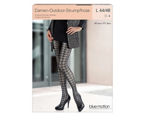 blue motion Outdoor-Strumpfhose oder -Leggings