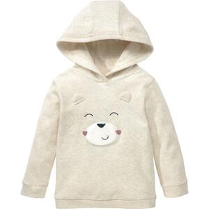 Baby Hoody mit Bären-Motiv
