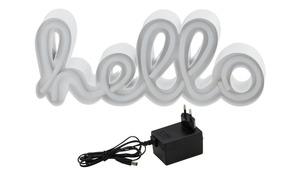 LED Schriftzug Hello