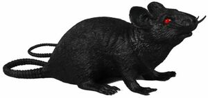 Ratte - aus Kunststoff - 25 cm