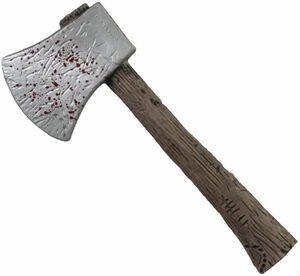 Zombiejäger-Axt - aus Kunststoff - 36 x 14 x 2 cm