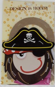 Laterne Bastelset Pirat