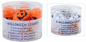 8er LED-Lichterkette - Halloween - 150 cm - 1 Stück