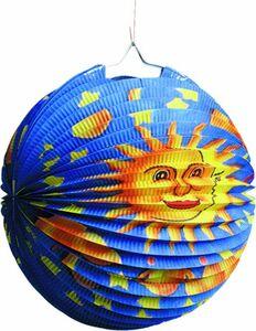 Laterne - aus Papier - Ø = 25 cm - Sonne
