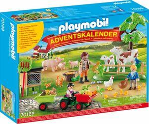 PLAYMOBIL® Adventskalender 70189 - Auf dem Bauernhof