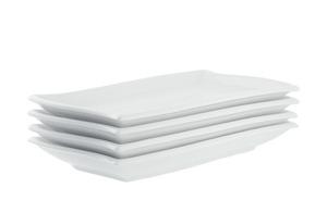 Platte wellenförmig 4er-Set