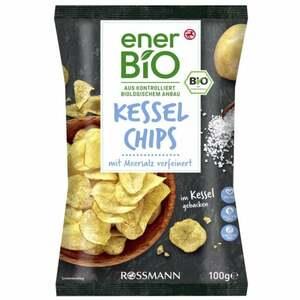 enerBiO Kessel Chips mit Meersalz verfeinert
