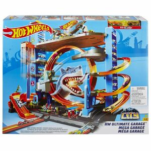 Hot Wheels City - Ultimative Garage mit Hai-Angriff