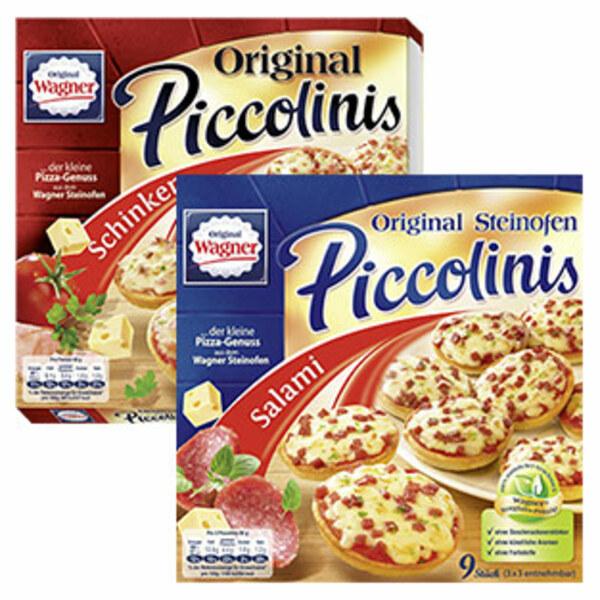 Original Wager Steinofen Piccolinis Salami gefroren, jede 270-g-Packung und weitere Sorten