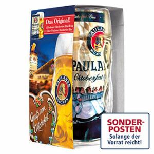 Paulaner Oktoberfestbier jeder 1-Liter-Krug