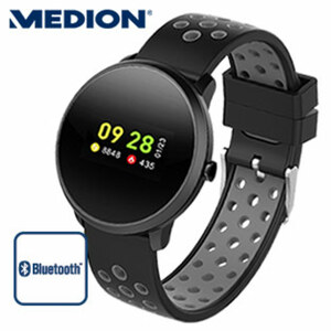 Fitness-Uhr Life E1800 · Schrittzähler, Kalorienverbrauch, Schlafanalyse · Herzfrequenzmesser · wassergeschützt nach IP 68 · bis zu 14 Tage Batterielaufzeit