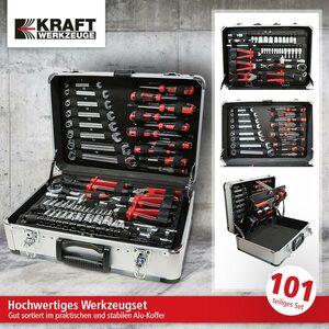 Kraft Werkzeuge Werkzeugkoffer, 101 tlg.