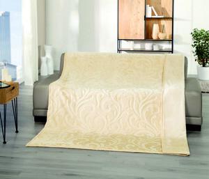 Bella Casa XXL Kaschmir Touch Decke, ca. 180x220cm, Sandshell