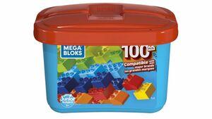 Fisher Price - Mega Bloks - Mini Bausteinbox 100 Teile