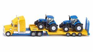 SIKU 1805 Farmer - LKW mit New Holland Traktoren