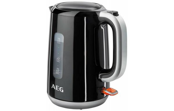 AEG Wasserkocher EWA3300 schwarz/silber 1,7 Liter