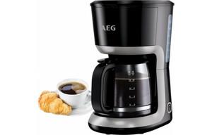 AEG Kaffeeautomat KF3300 schwarz/silber