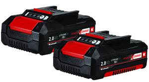 Einhell Power X-Change Akku PXC-Twinpack 2,0 Ah