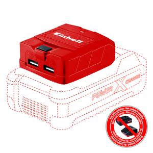 Einhell Power X-Change USB-Akku-Adapter TE-CP 18 Li USB-Solo